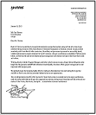 Harris Commendation Letter