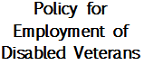 Disabled Veterans Policy