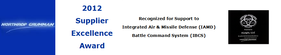 Northrop Grumman Supplier Excellence Award