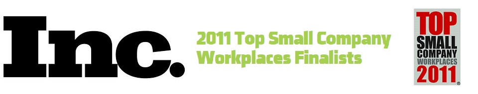 Inc. Top Small Company Workplaces Award