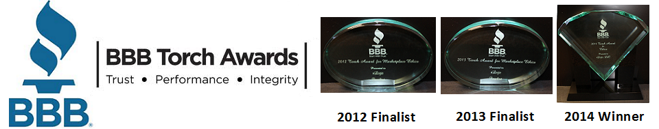 Better Business Bureau Marketplace Ethics Award