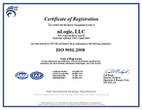 2015 ISO Certification