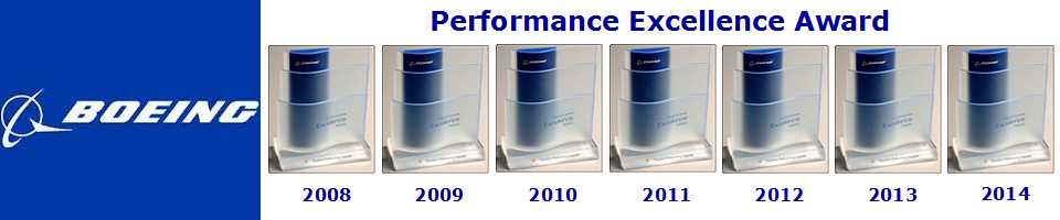 Boeing Performance Excellence Award