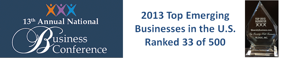 2013 Top Emerging Business Award