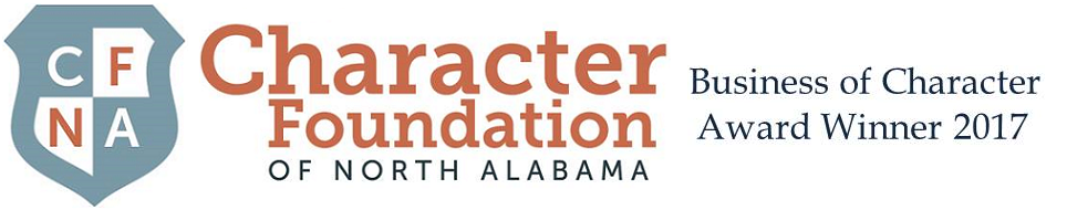 Character Foundation of North Alabama Business of Character Award