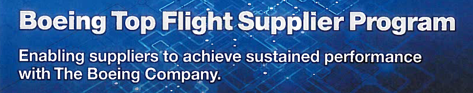 Boeing Top Flight Supplier Program