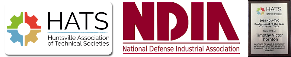 National Defense Industrial Association (NDIA) Professional of the Year